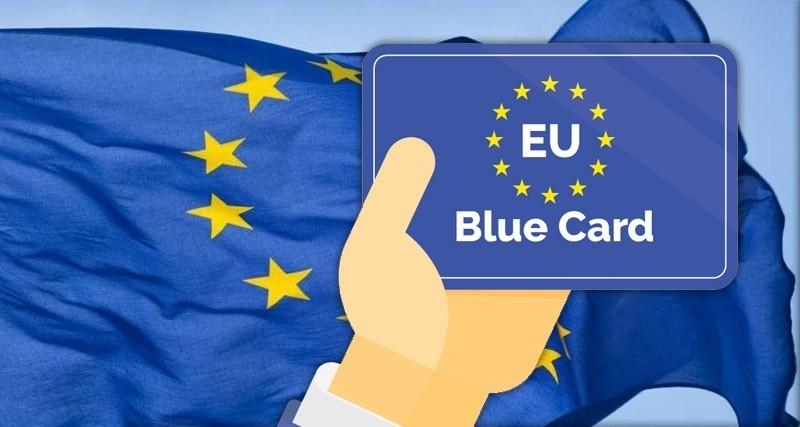 Як отримати блакитну карту ЄС