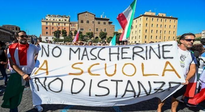 У Римі тисячі італійців вийшли на демонстрації проти коронавірусних обмежень
