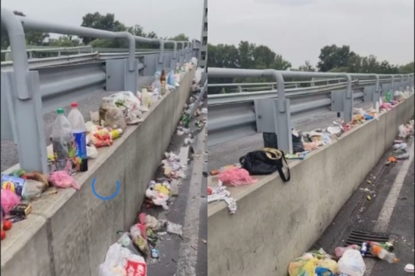 Стихійне звалище: на кордоні з Угорщиною люди викидають продукти, бо сусідня країна їх не пропускає