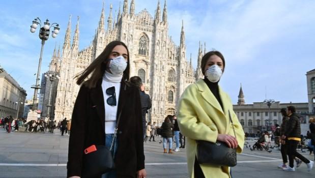 Італійський регіон зобов'язав носити маски для обличчя на вулиці цілодобово